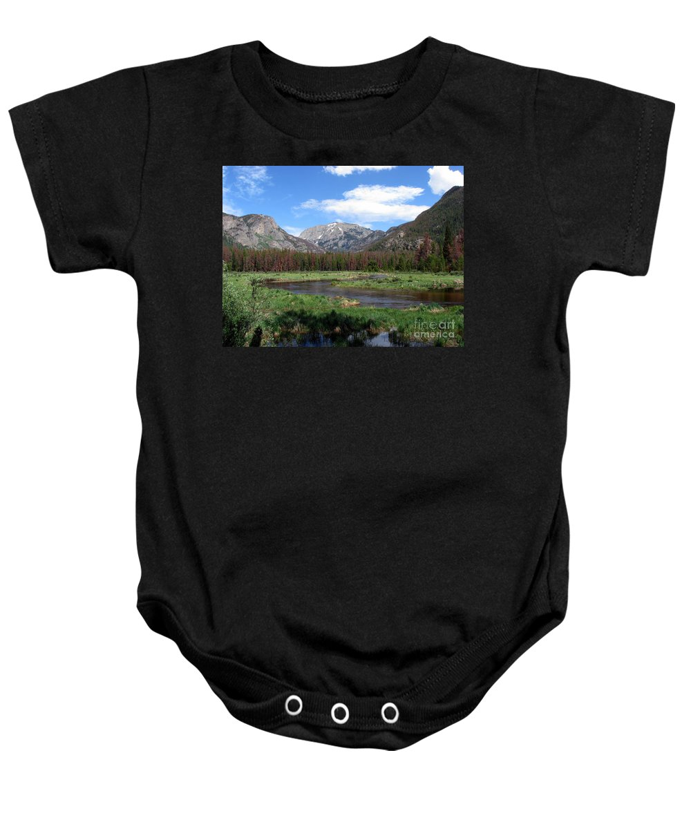 Nature Baby Onesie featuring the photograph Quiet by Amanda Barcon