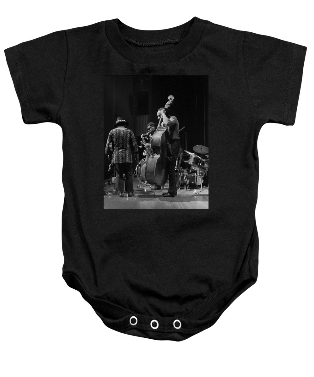 Rahsaan Roland Kirk Baby Onesie featuring the photograph Rahsaan Roland Kirk 2 by Lee Santa
