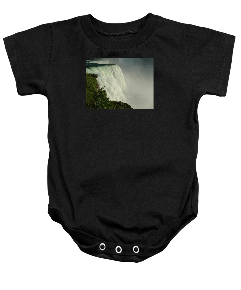 Landscapes Baby Onesie featuring the photograph Raw Power Niagra by Kevin Graham
