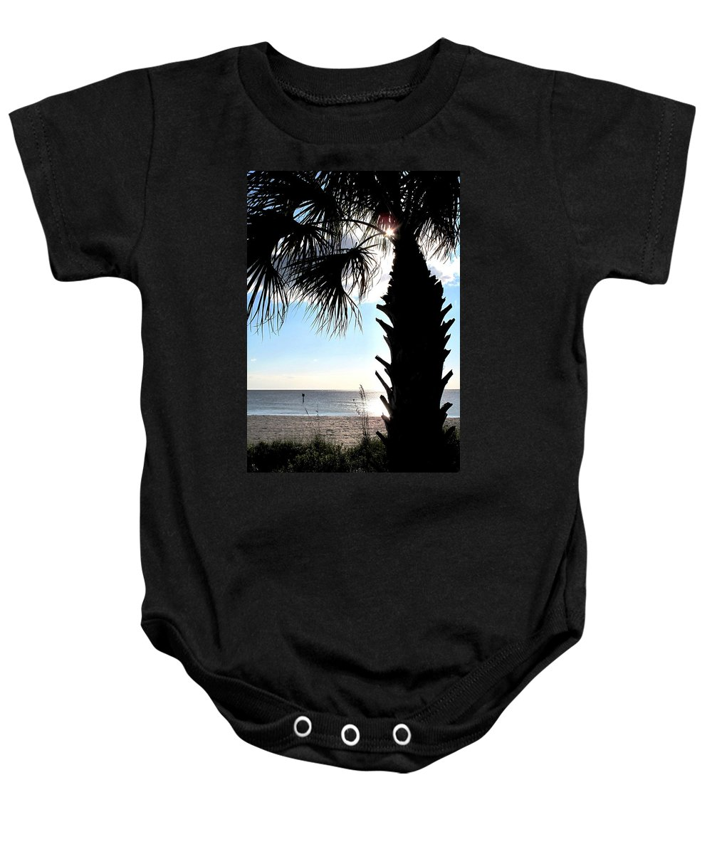 Ocean Baby Onesie featuring the photograph Raymonds Afternoon Sun by Ian MacDonald