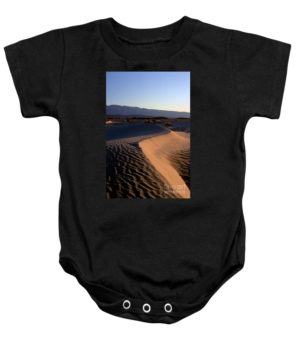 Sand Baby Onesie featuring the photograph Red Dunes by Jim And Emily Bush