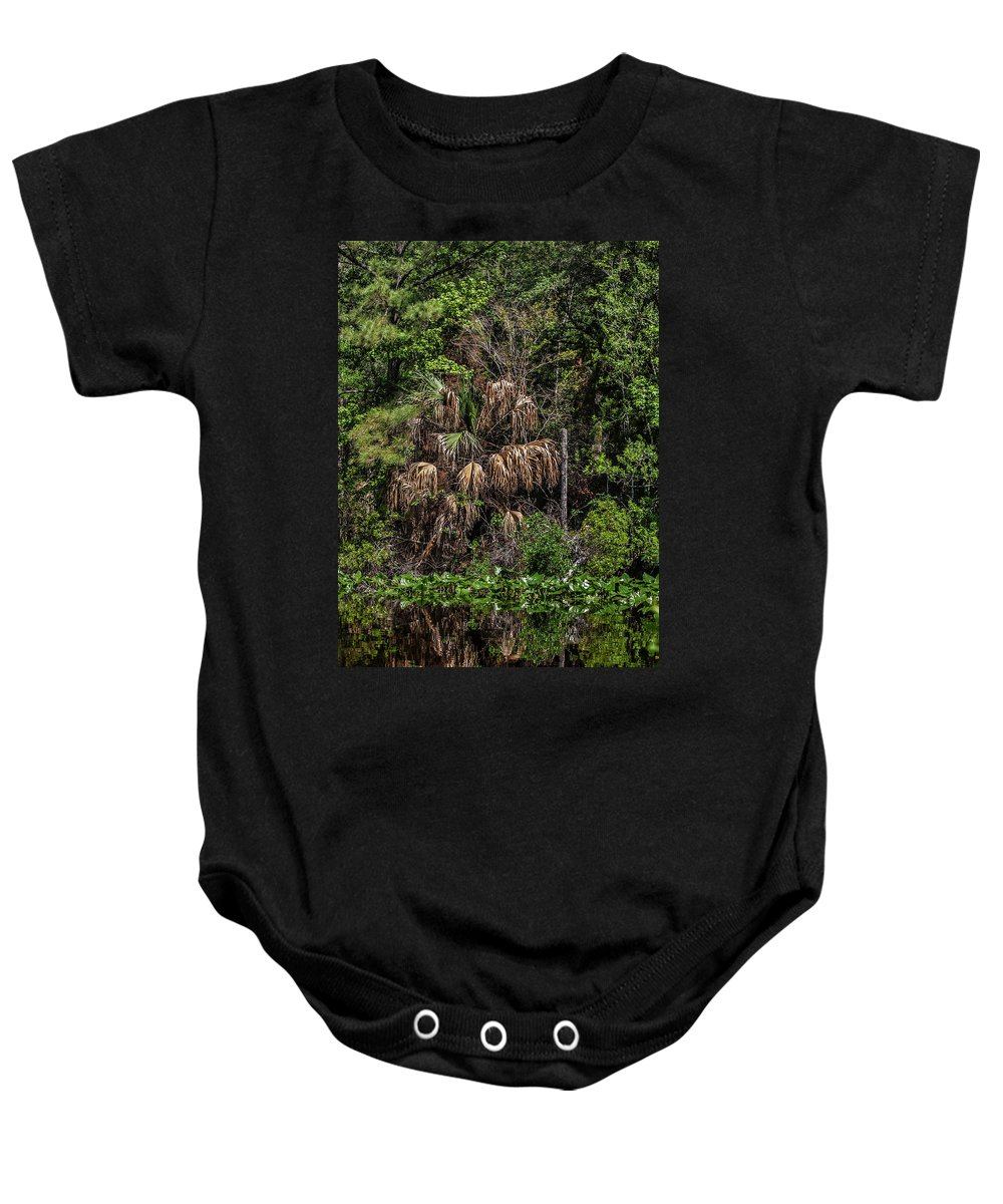 Florida Baby Onesie featuring the photograph Reflective Colors Of Nature I I by Mark Fuge