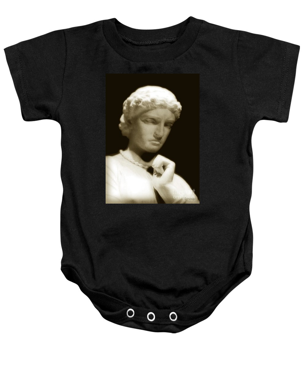 Woman Baby Onesie featuring the photograph Regret by RC DeWinter