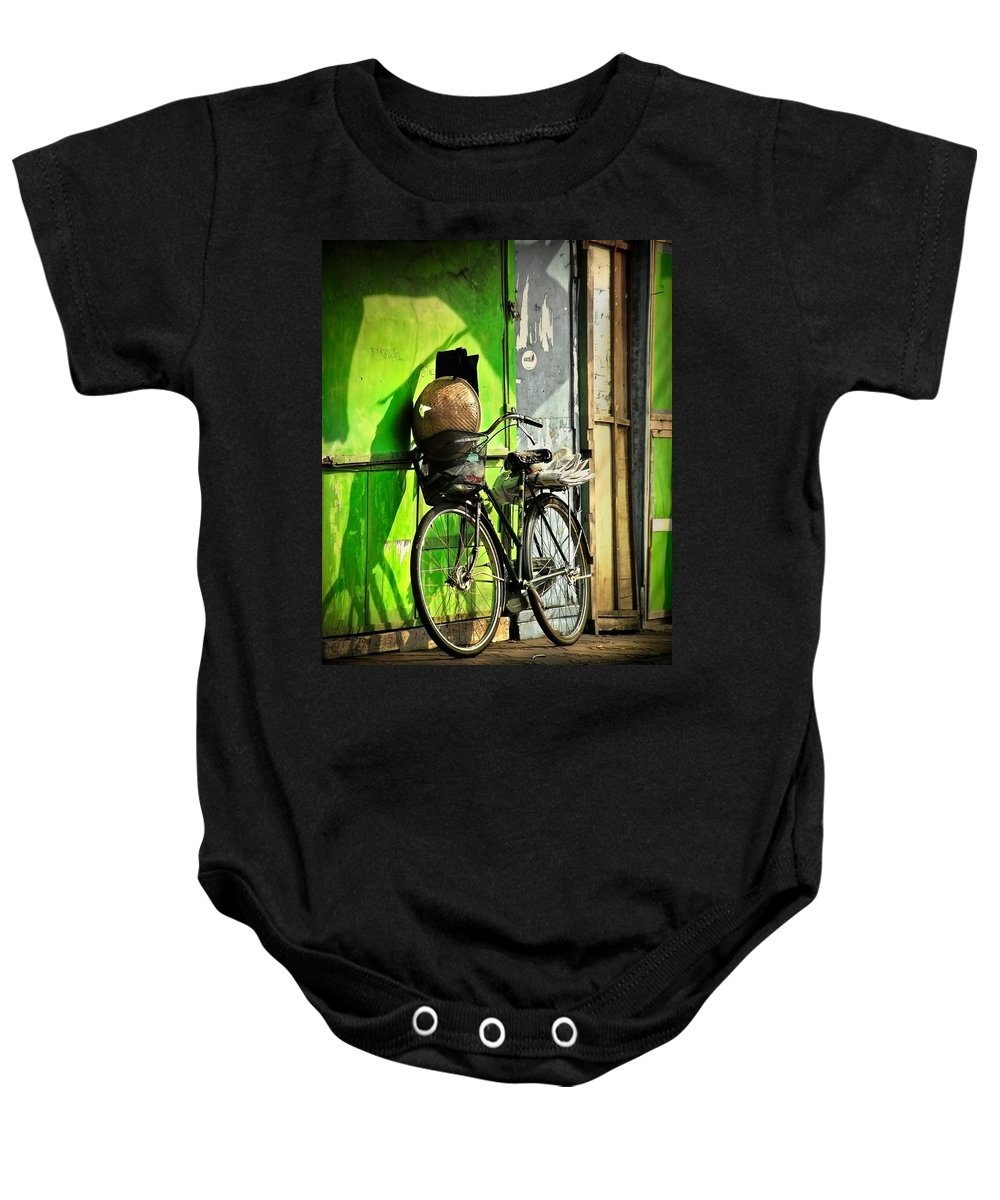 Baby Onesie featuring the photograph Resting by Charuhas Images