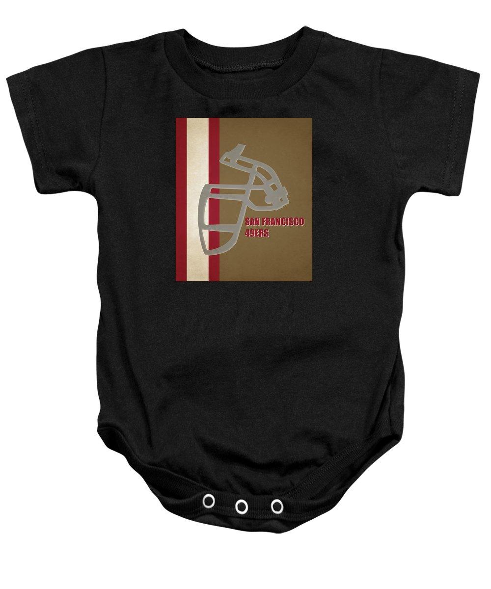 49ers Baby Onesie featuring the photograph Retro 49ers Art by Joe Hamilton