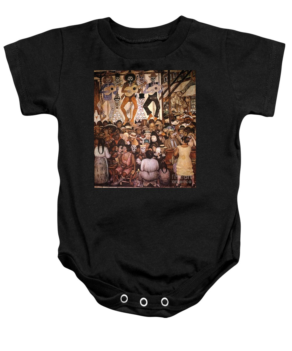 20th Century Baby Onesie featuring the photograph Rivera: Day Of The Dead by Granger