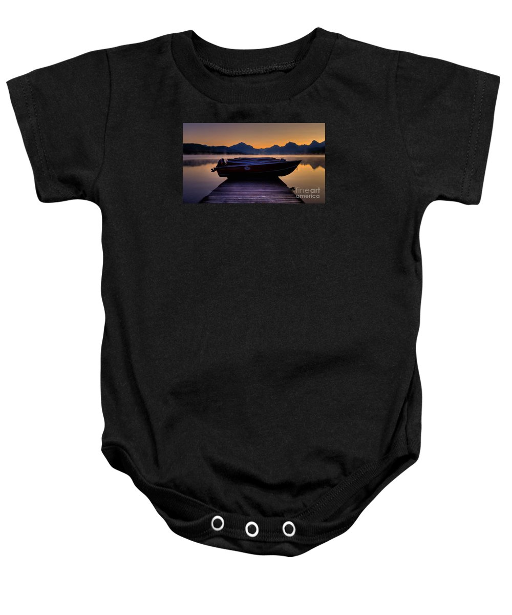 Rocky Mountains Baby Onesie featuring the photograph Rocky Mountain Magic - Seveneleven by James Anderson