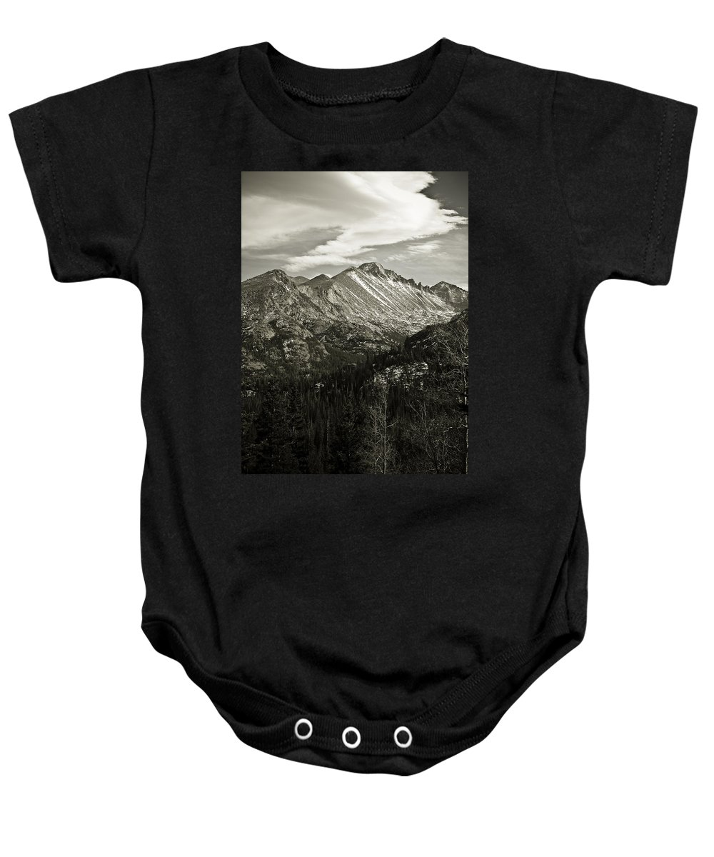 Colorado Baby Onesie featuring the photograph Rocky Mountain Wonders by Marilyn Hunt