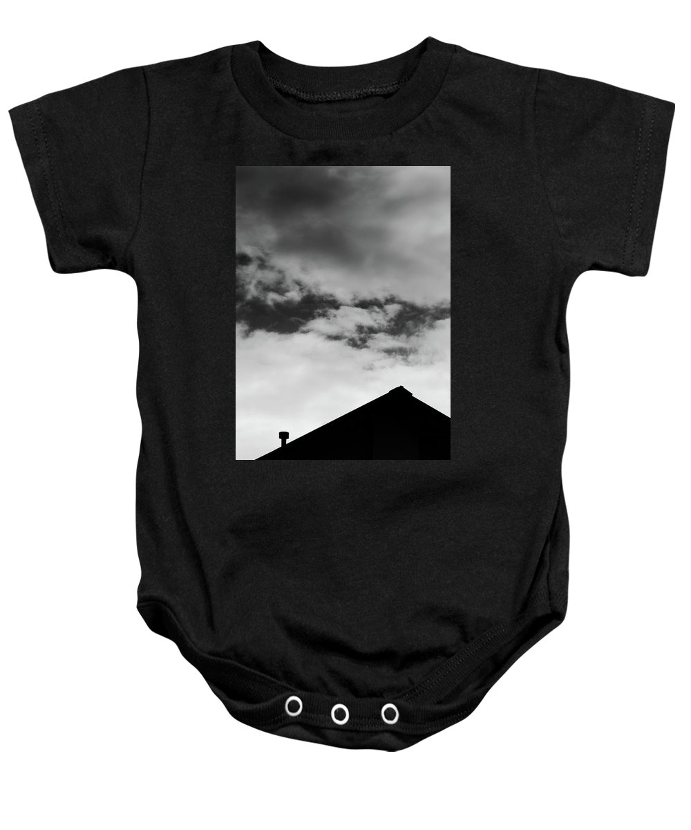 Architecture Baby Onesie featuring the photograph Roof #2882 by Andrey Godyaykin