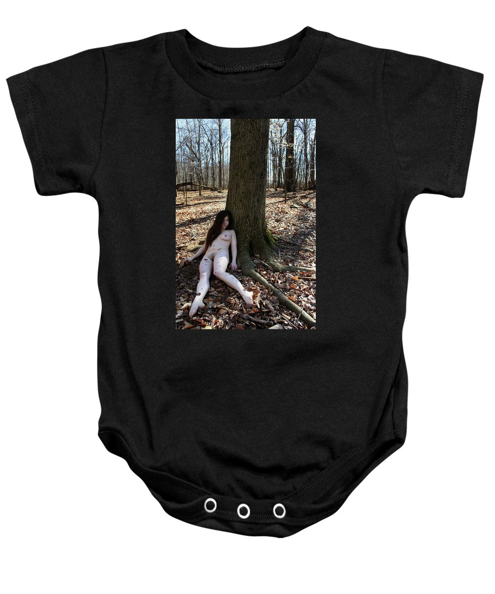 Nature Baby Onesie featuring the photograph Roots by Joshua Macneil