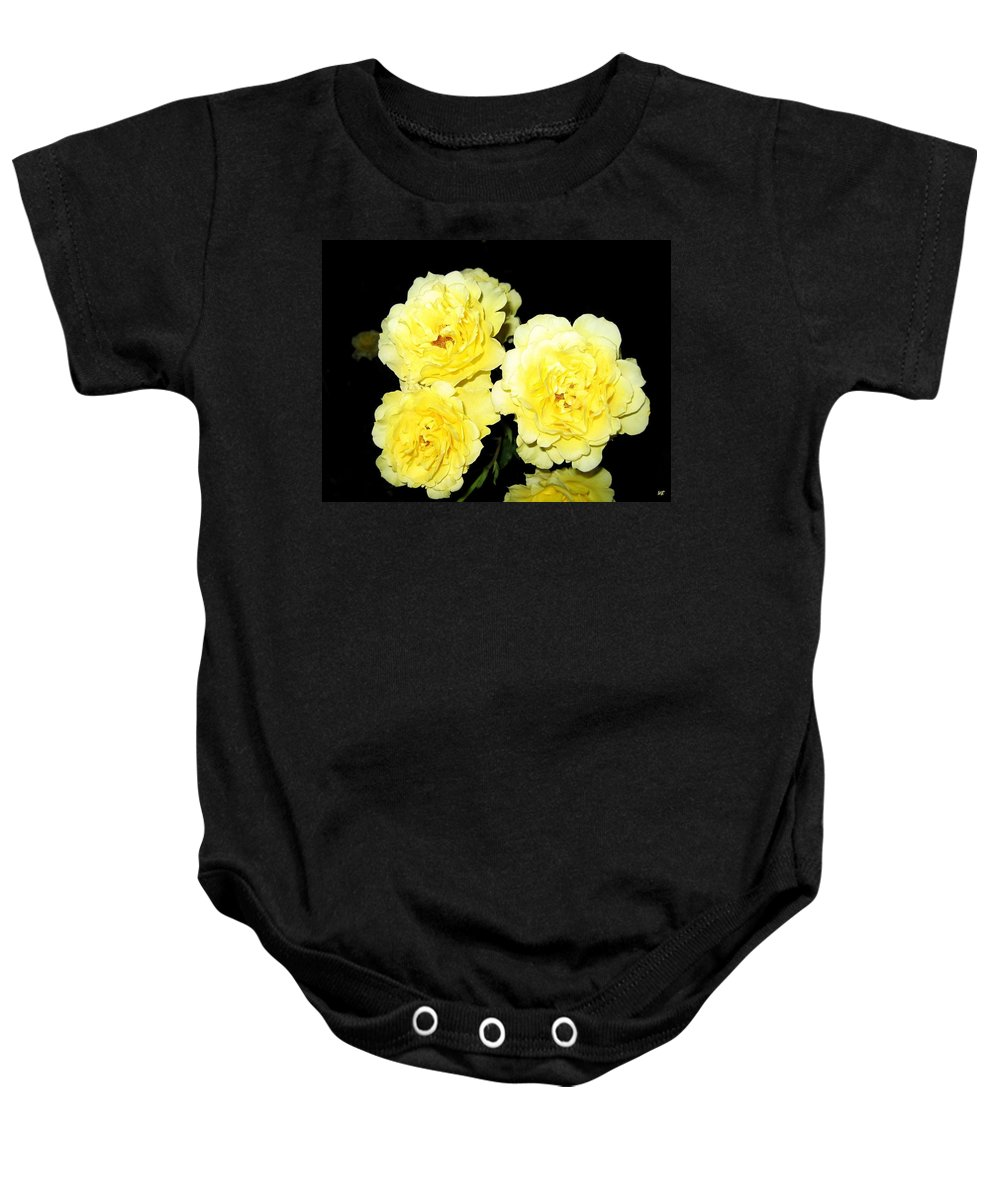 Roses Baby Onesie featuring the photograph Roses 11 by Will Borden