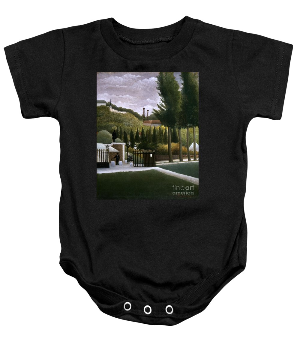 1900 Baby Onesie featuring the photograph Rousseau: House, C1900 by Granger