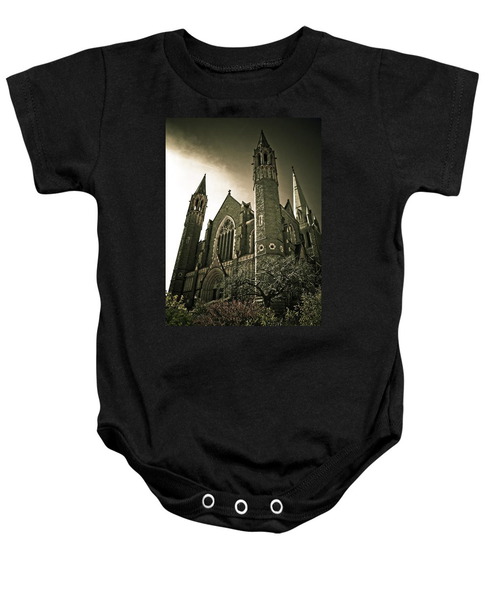Rupunzel Baby Onesie featuring the photograph Rupunzel by Kelly King