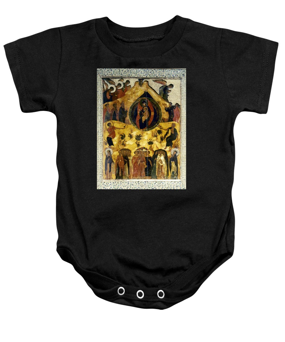 16th Century Baby Onesie featuring the photograph Russian Icon by Granger
