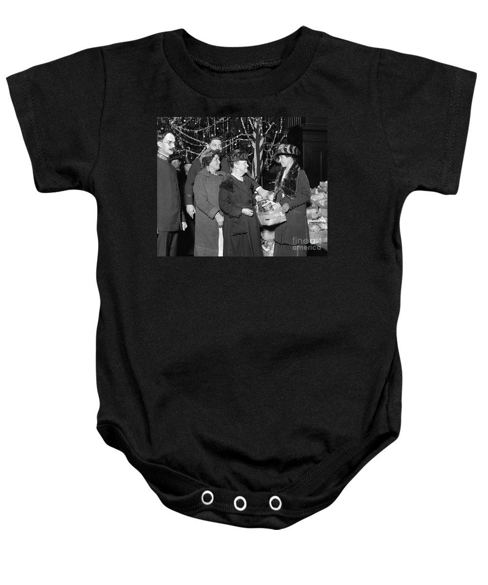 1923 Baby Onesie featuring the photograph Salvation Army, 1923 by Granger