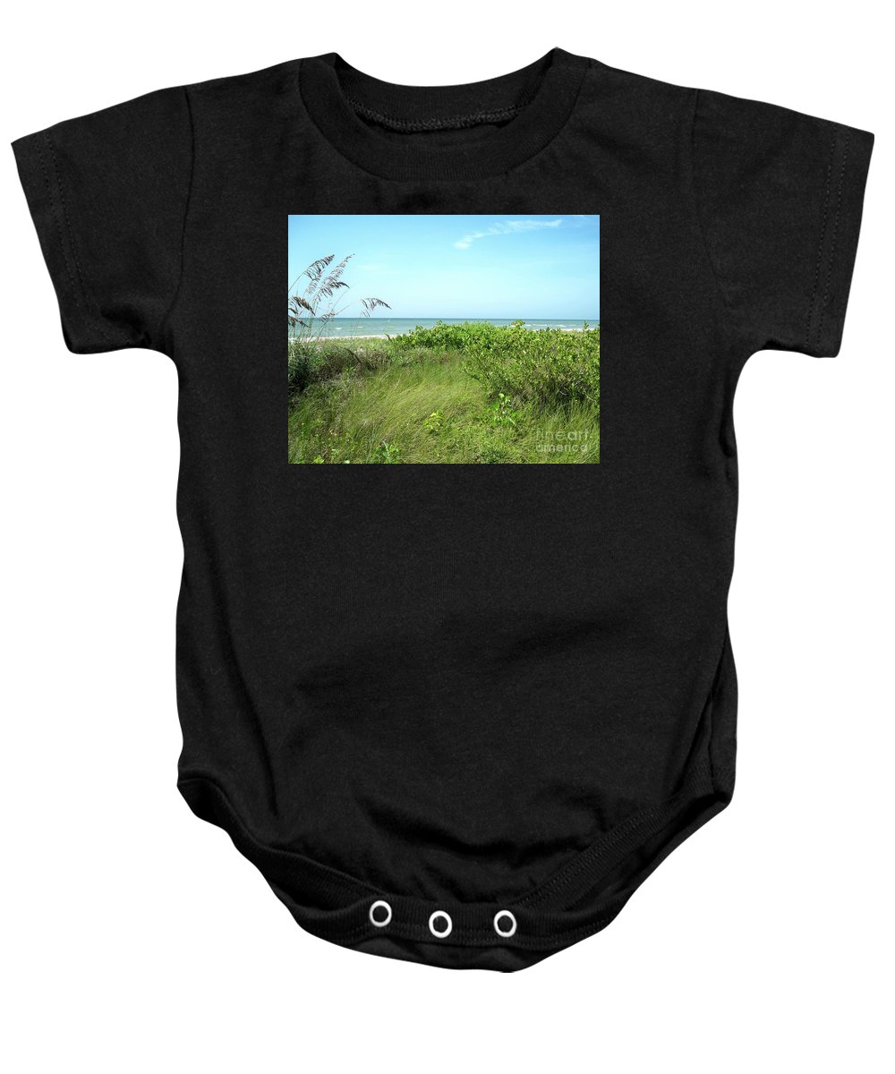 Florida Baby Onesie featuring the photograph Sanibel Island by Chris Andruskiewicz
