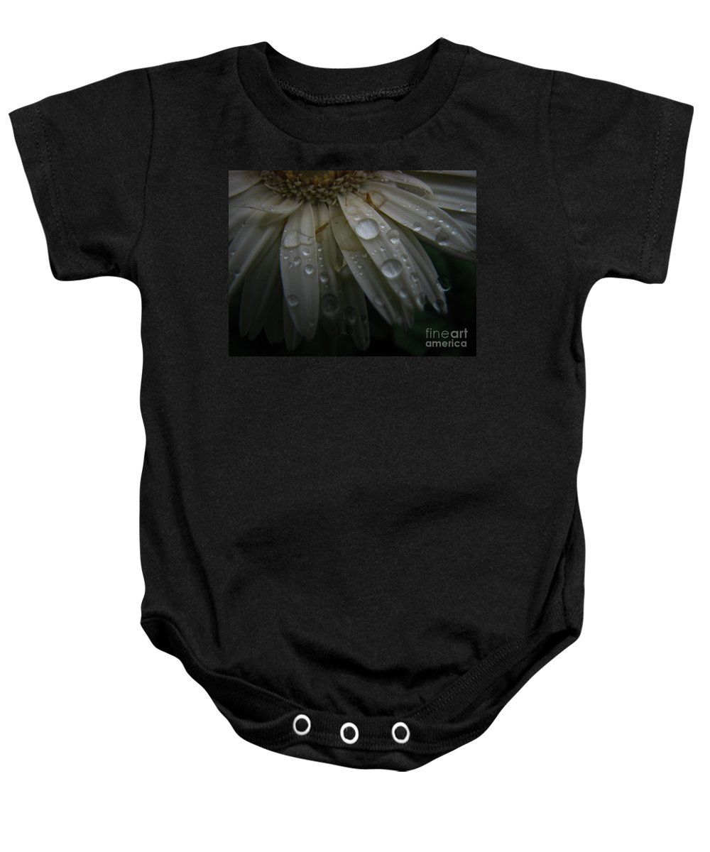 Daisy Baby Onesie featuring the photograph Saturation by Amanda Barcon