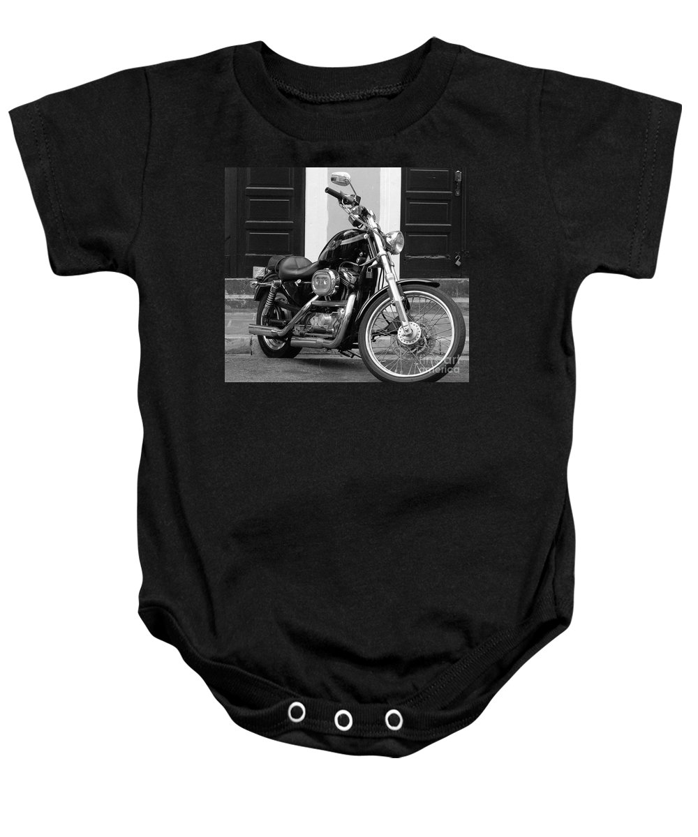 Motorcycle Baby Onesie featuring the photograph Screamin Eagle by Debbi Granruth