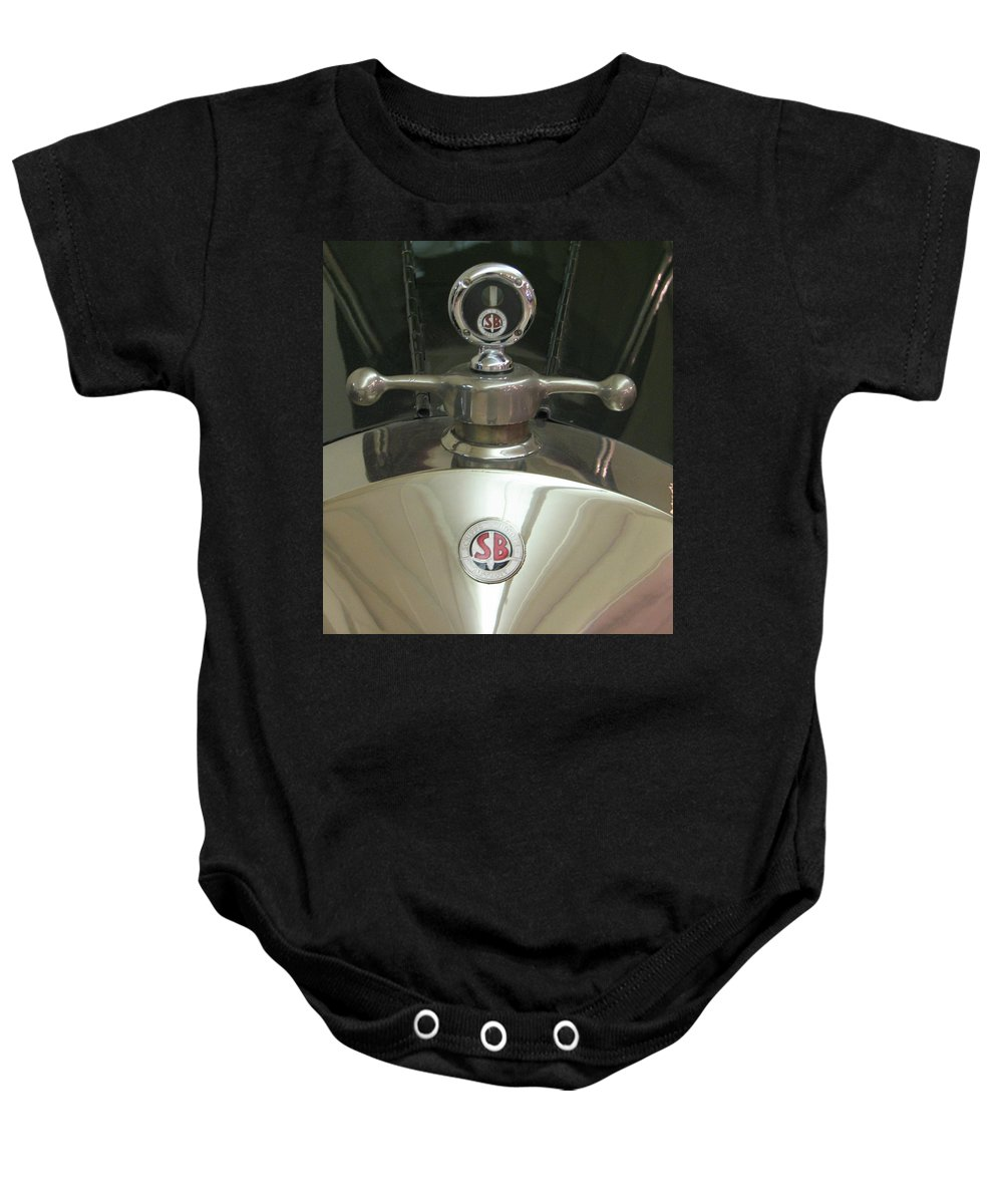 Scripps Booth Baby Onesie featuring the photograph Scripps Booth by Kelly Mezzapelle