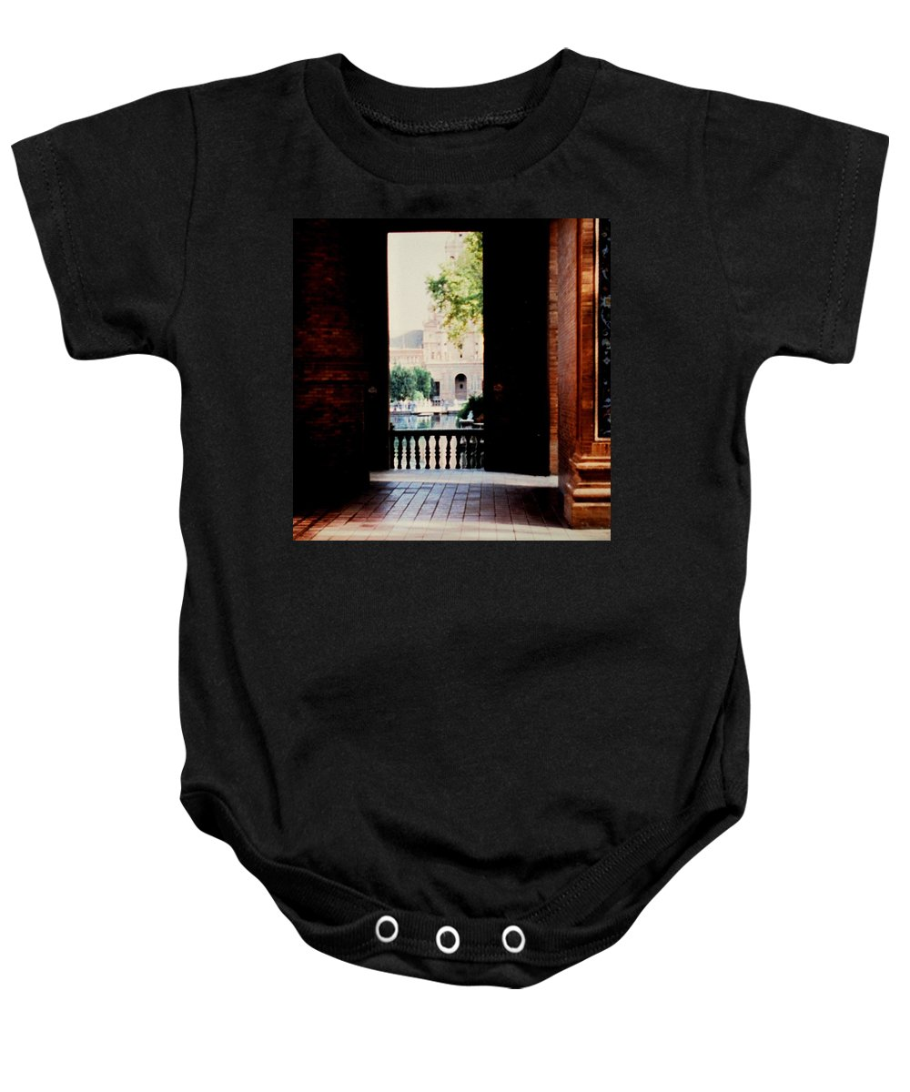 Seville Baby Onesie featuring the photograph Seville by Ian MacDonald