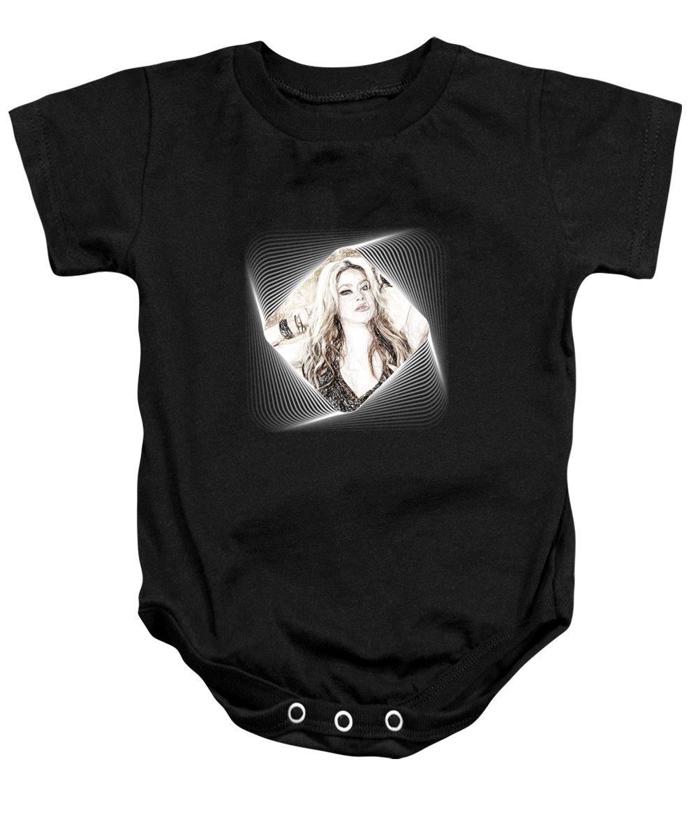 Shakira Baby Onesies