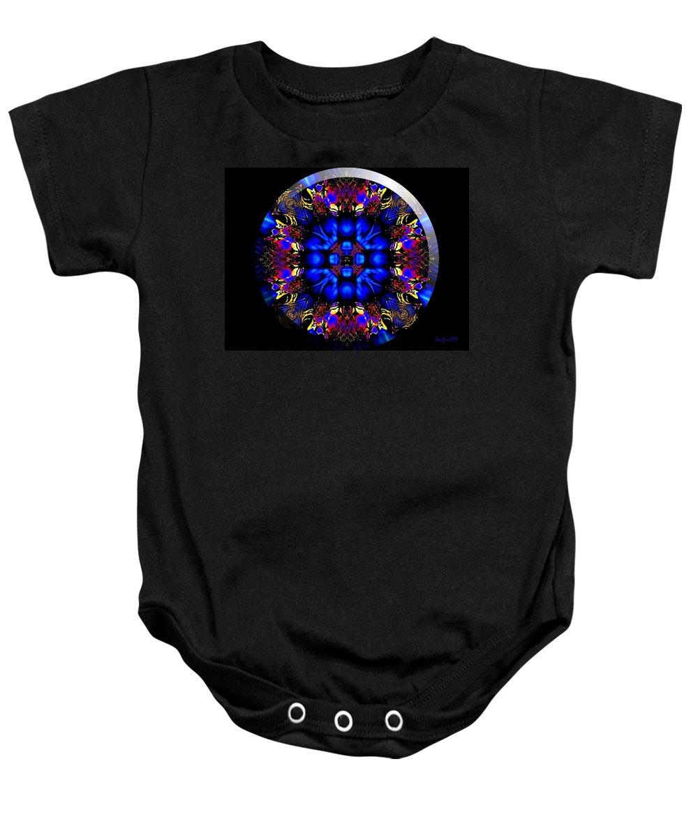 Coin Baby Onesie featuring the digital art Shanna by Robert Orinski