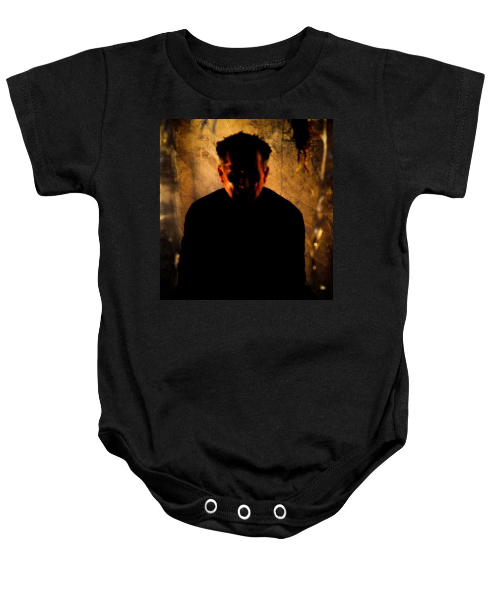 Silhouette Baby Onesie featuring the photograph Shapes by Scott Sawyer