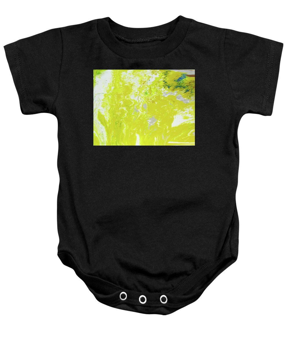 Fusionart Baby Onesie featuring the painting Shine by Ralph White