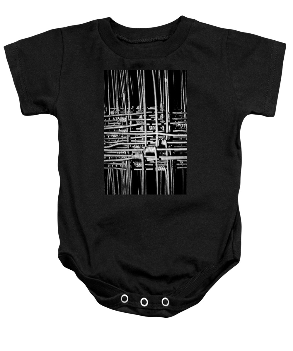 Silver Baby Onesie featuring the photograph Silver Lining by Hannah Breidenbach