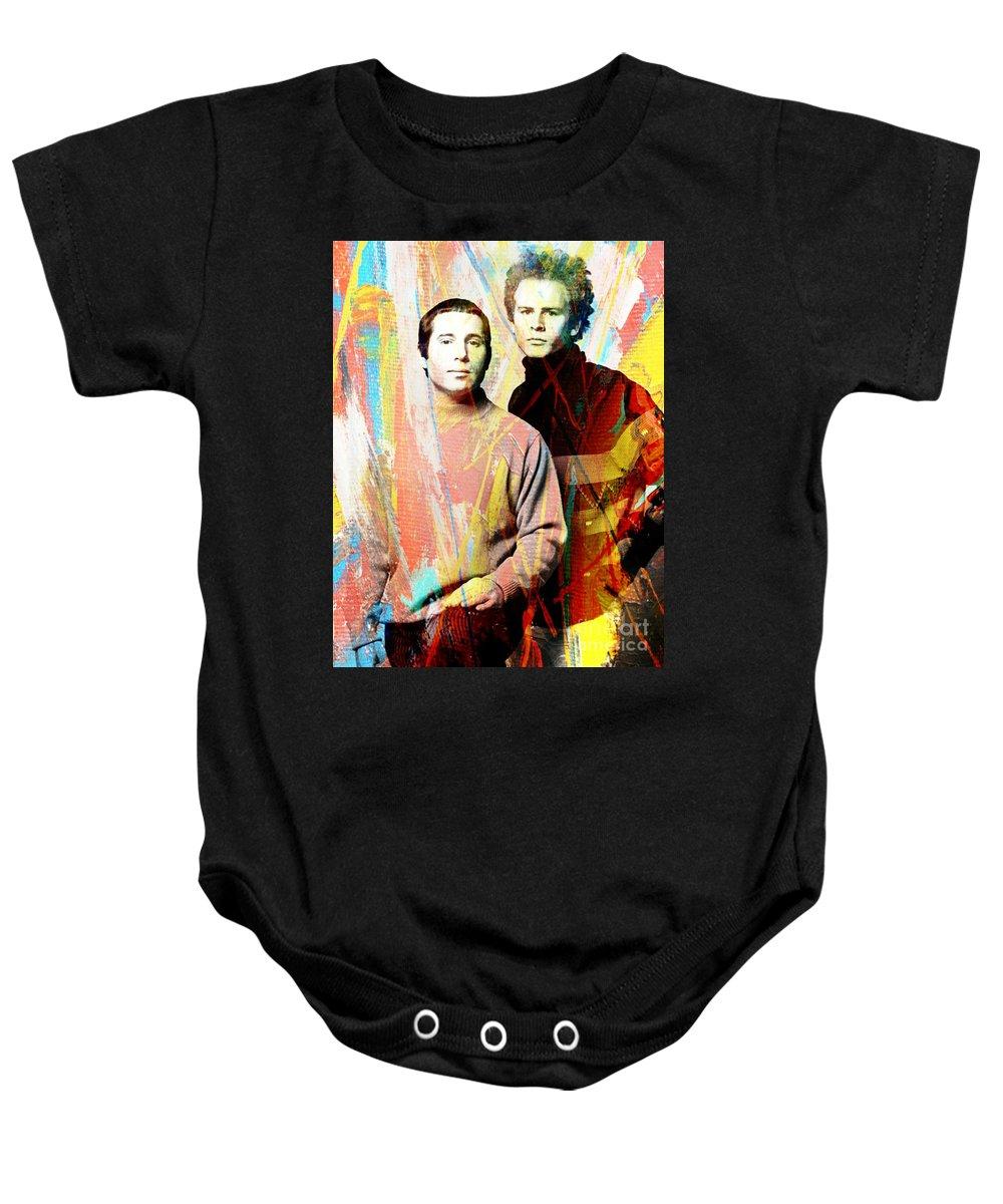 Simon And Garfunkel Baby Onesies