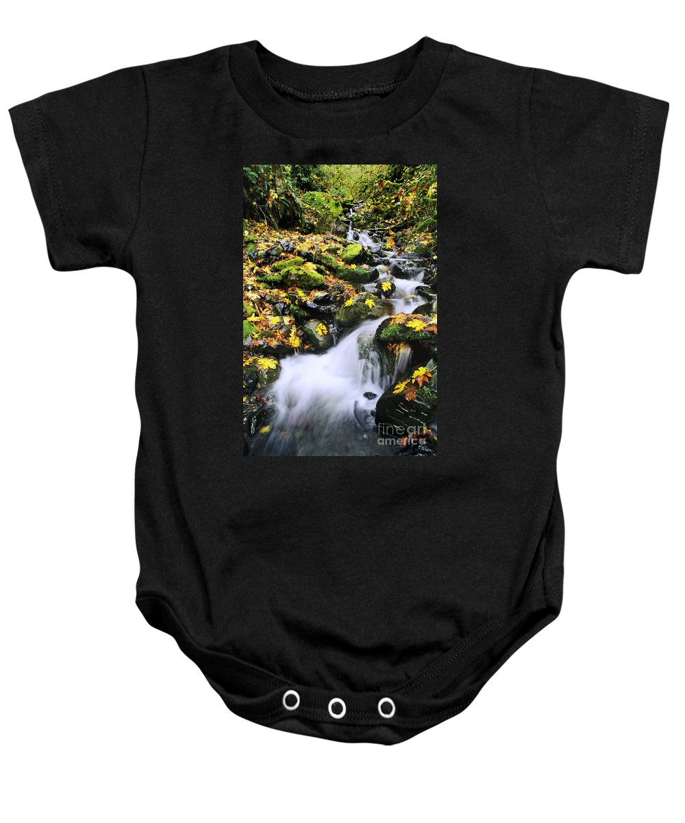 29-pfs0155 Baby Onesie featuring the photograph Snoqualmie National Fores by Greg Vaughn - Printscapes