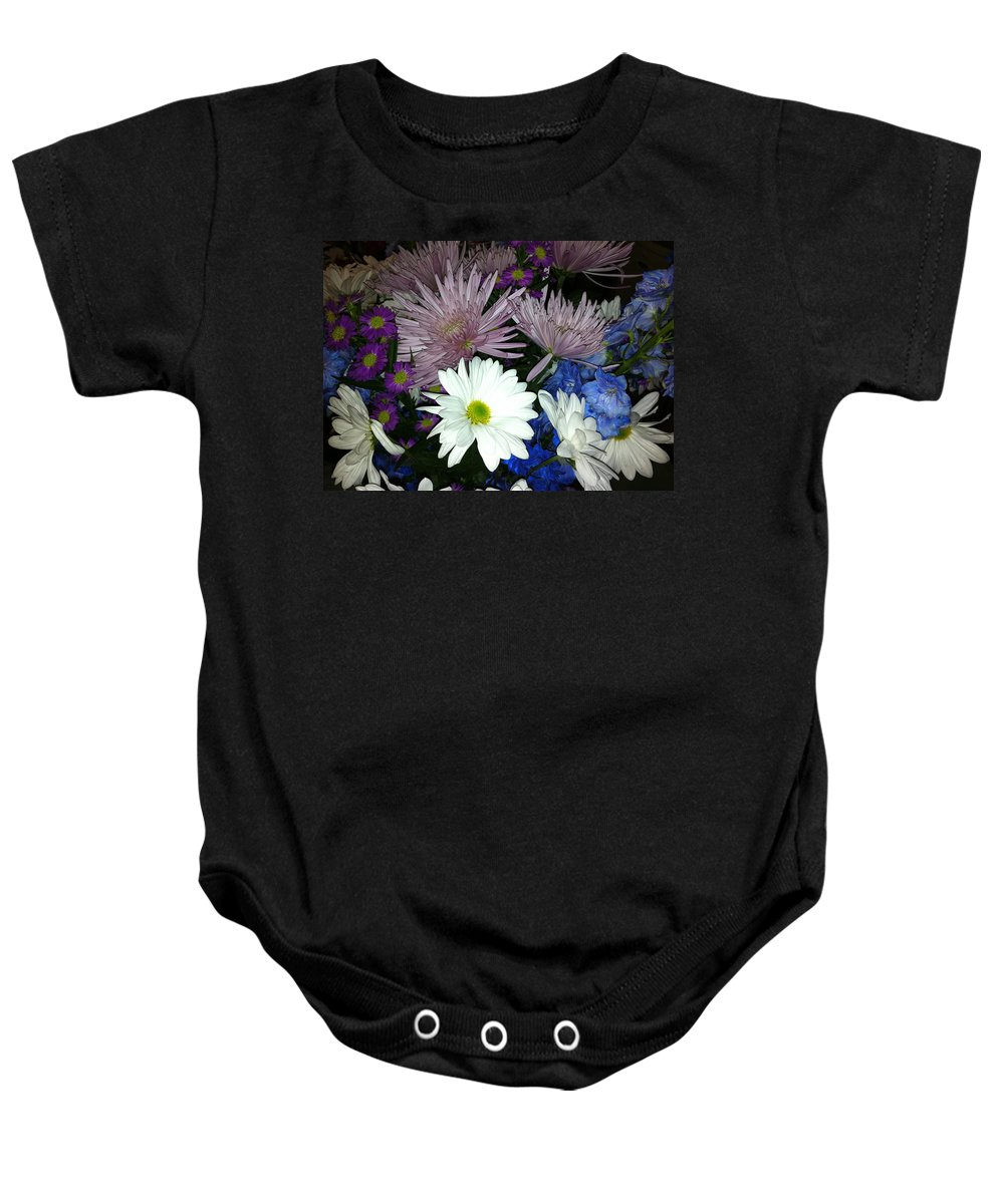 Flowers Baby Onesie featuring the photograph Snow Witch by Kimberly Mohlenhoff
