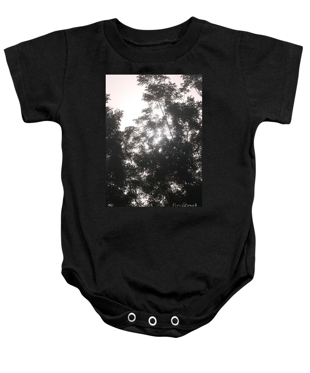 Light Baby Onesie featuring the photograph Soft Light by Nadine Rippelmeyer
