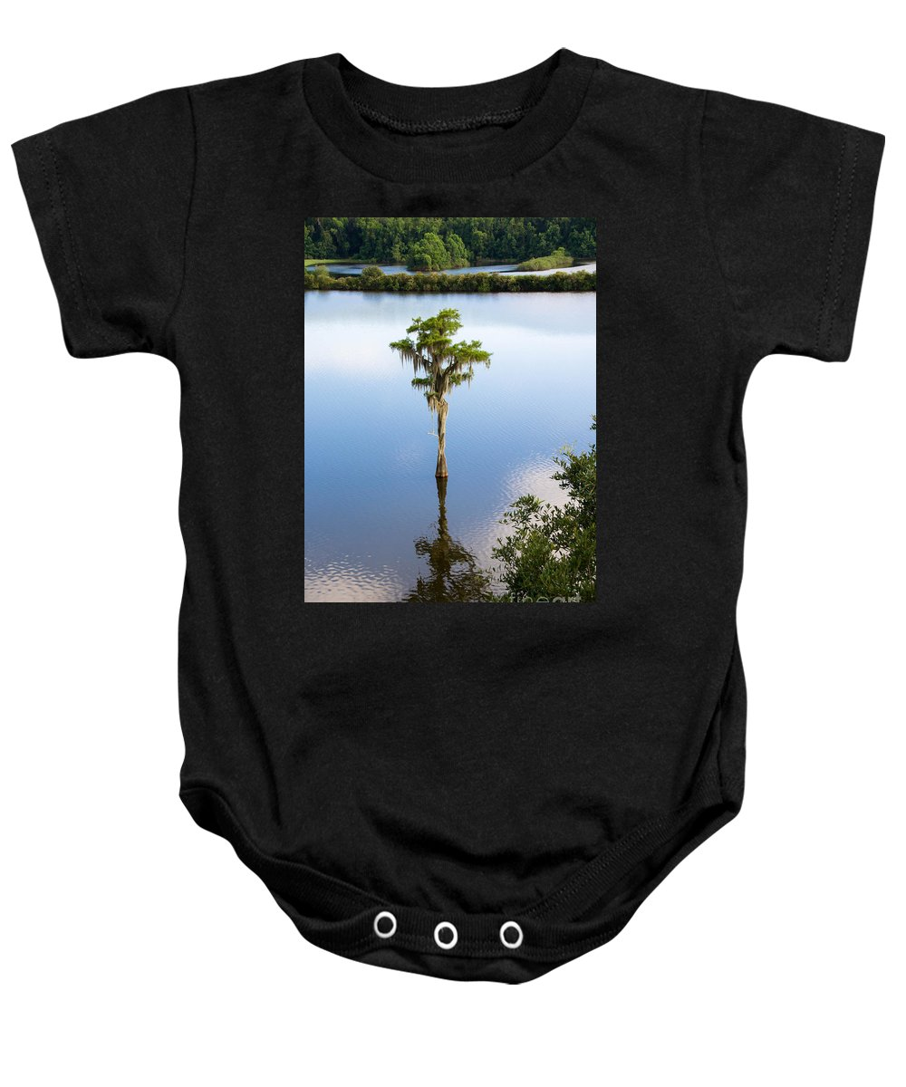 Nature Baby Onesie featuring the photograph Solitary by Andrea Anderegg