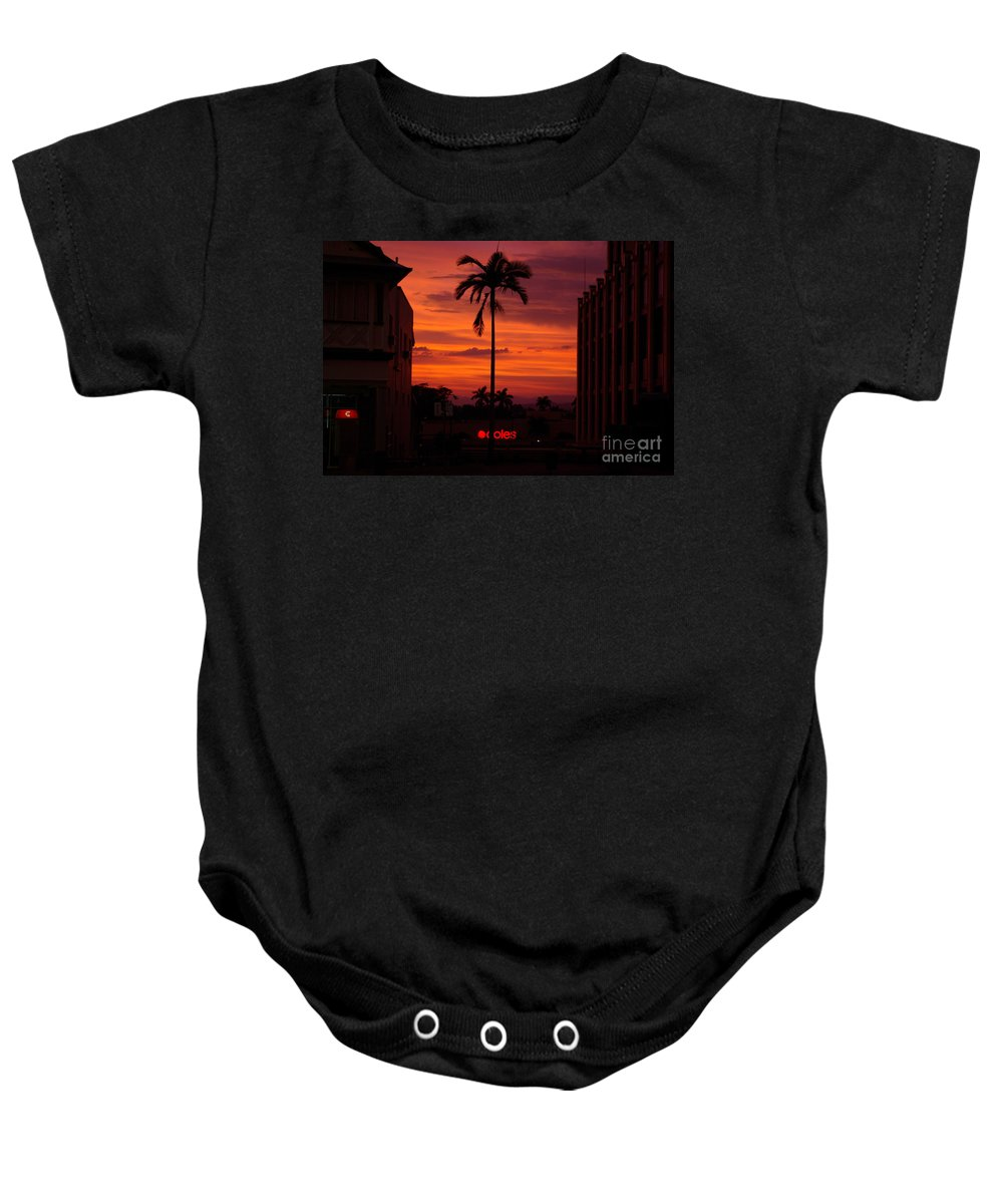 Innisfail Baby Onesie featuring the photograph Solitary Passage by Kerryn Madsen- Pietsch
