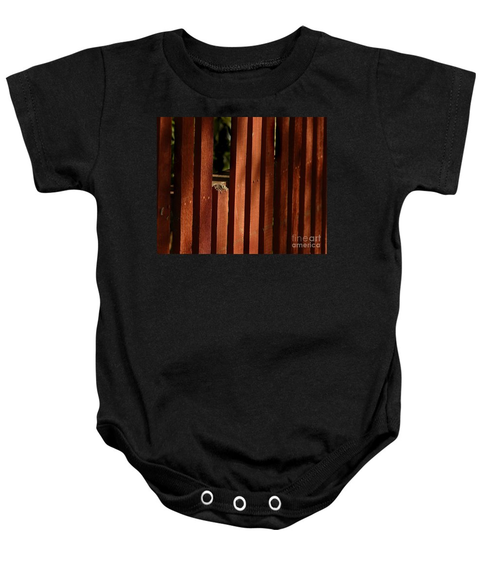 California Scenes Baby Onesie featuring the photograph Somethin's Missing by Norman Andrus