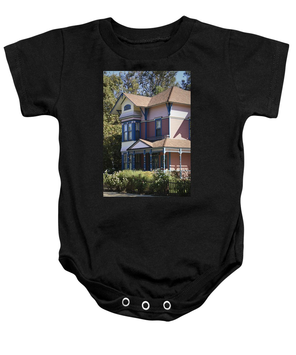California Baby Onesie featuring the photograph Southern California Painted Lady by Teresa Mucha