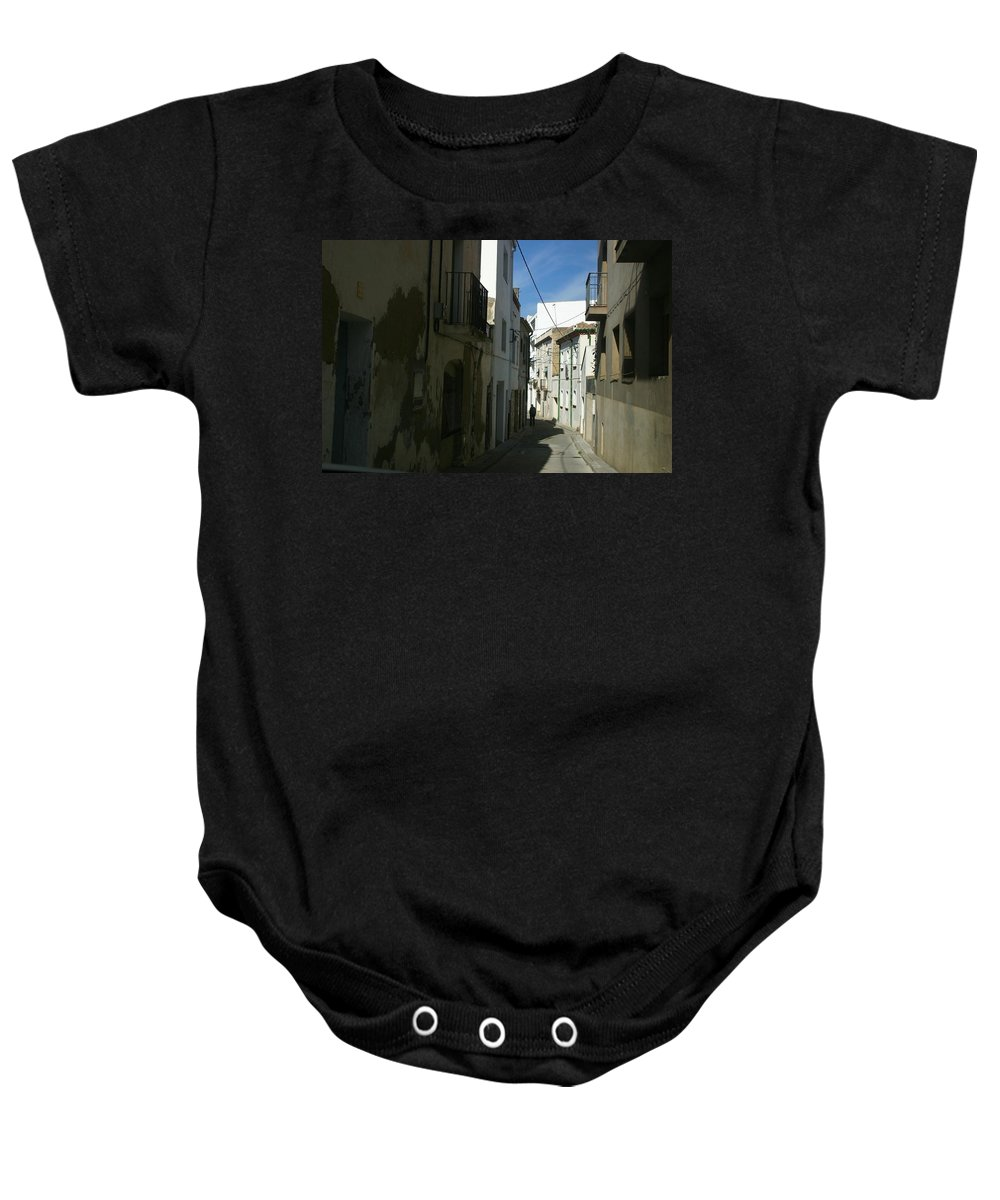Spain Baby Onesie featuring the photograph Spain One Way by Minaz Jantz