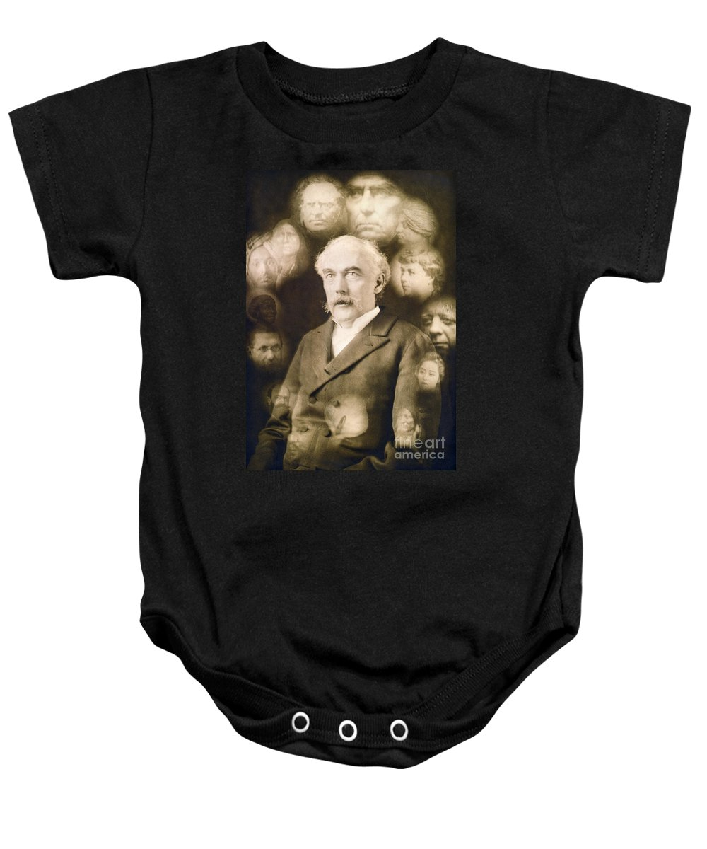 1901 Baby Onesie featuring the photograph Spirit Photograph, C1901 by Granger