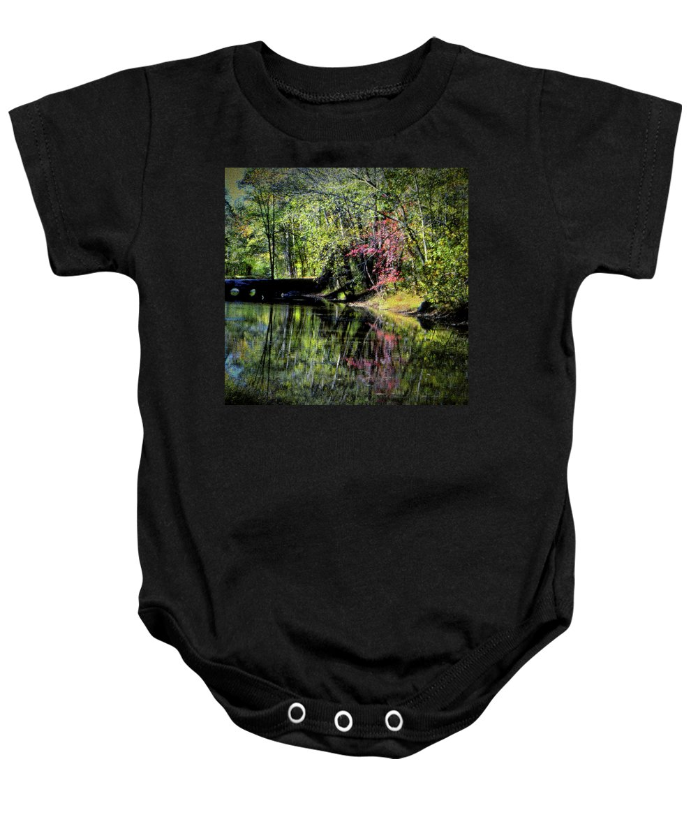C&o Canal Baby Onesie featuring the photograph Spring Colors by Samuel M Purvis III