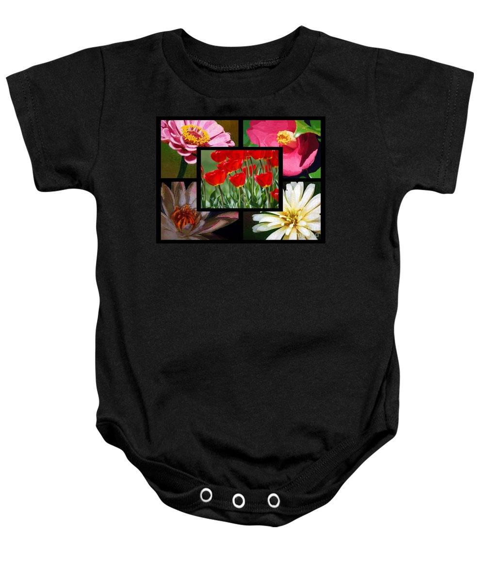 Spring Baby Onesie featuring the photograph Spring by Donna Bentley