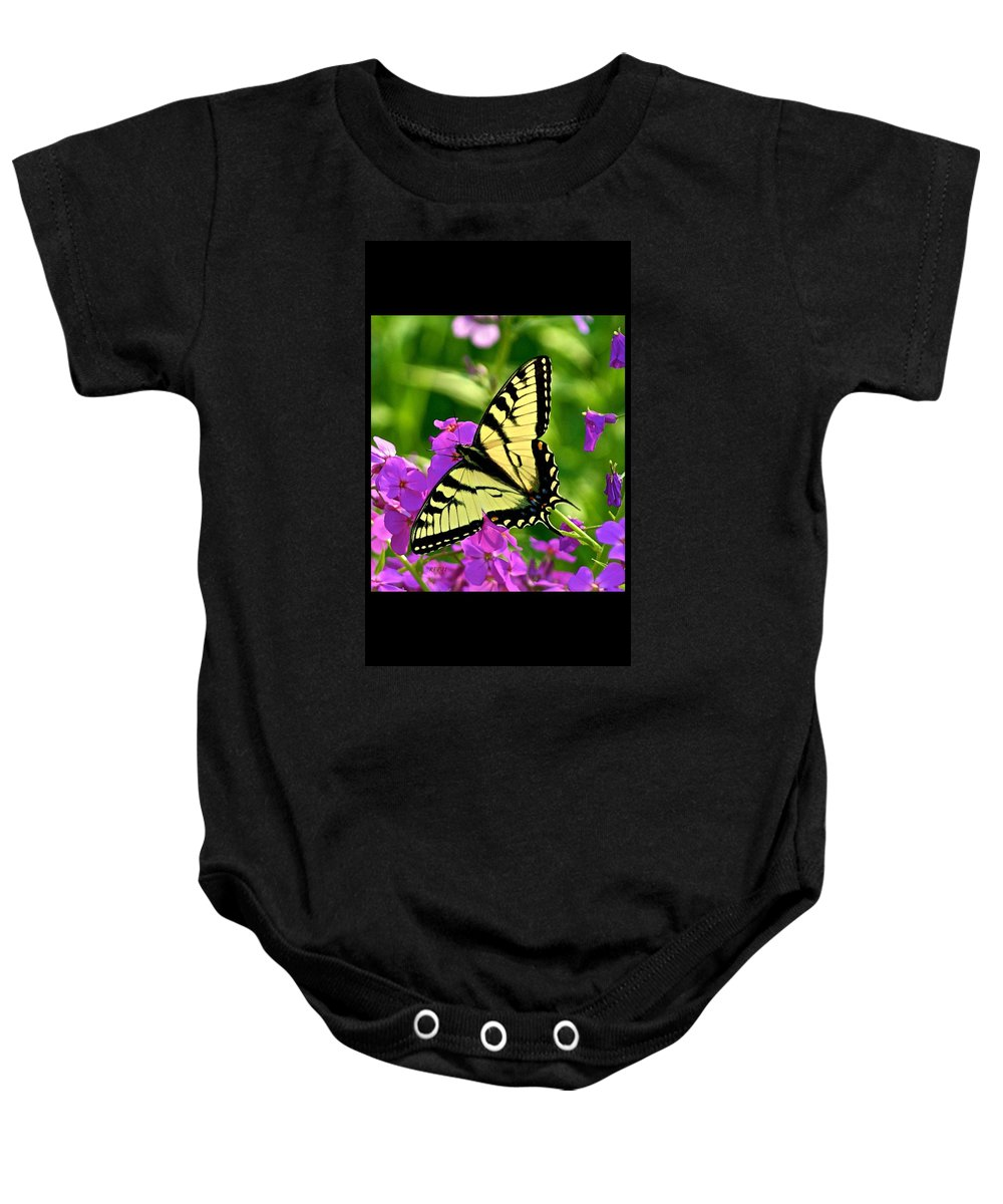 Butterfly Baby Onesie featuring the photograph Spring Glory by Robert Pearson