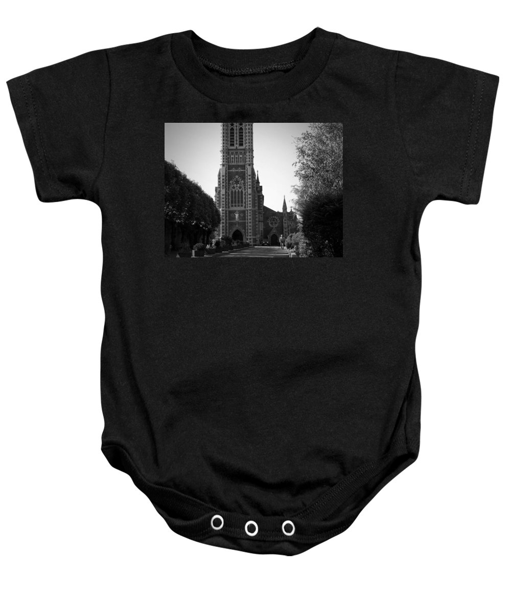 Irish Baby Onesie featuring the photograph St. John's Church Tralee Ireland by Teresa Mucha