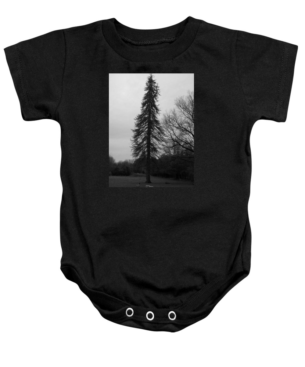 Baby Onesie featuring the photograph Standing Tall by William Kriekaard