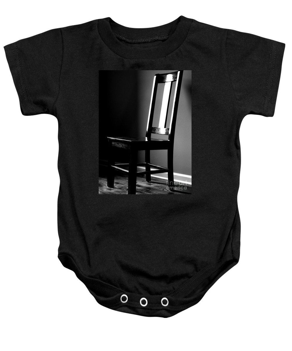 Stillness Baby Onesie featuring the photograph Still by Amanda Barcon
