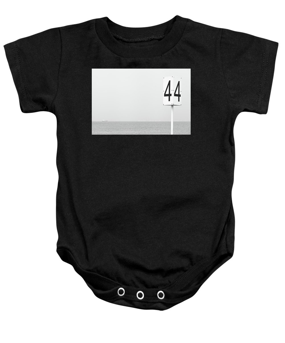 Abstract Baby Onesie featuring the photograph St.petersburg #8011 by Andrey Godyaykin