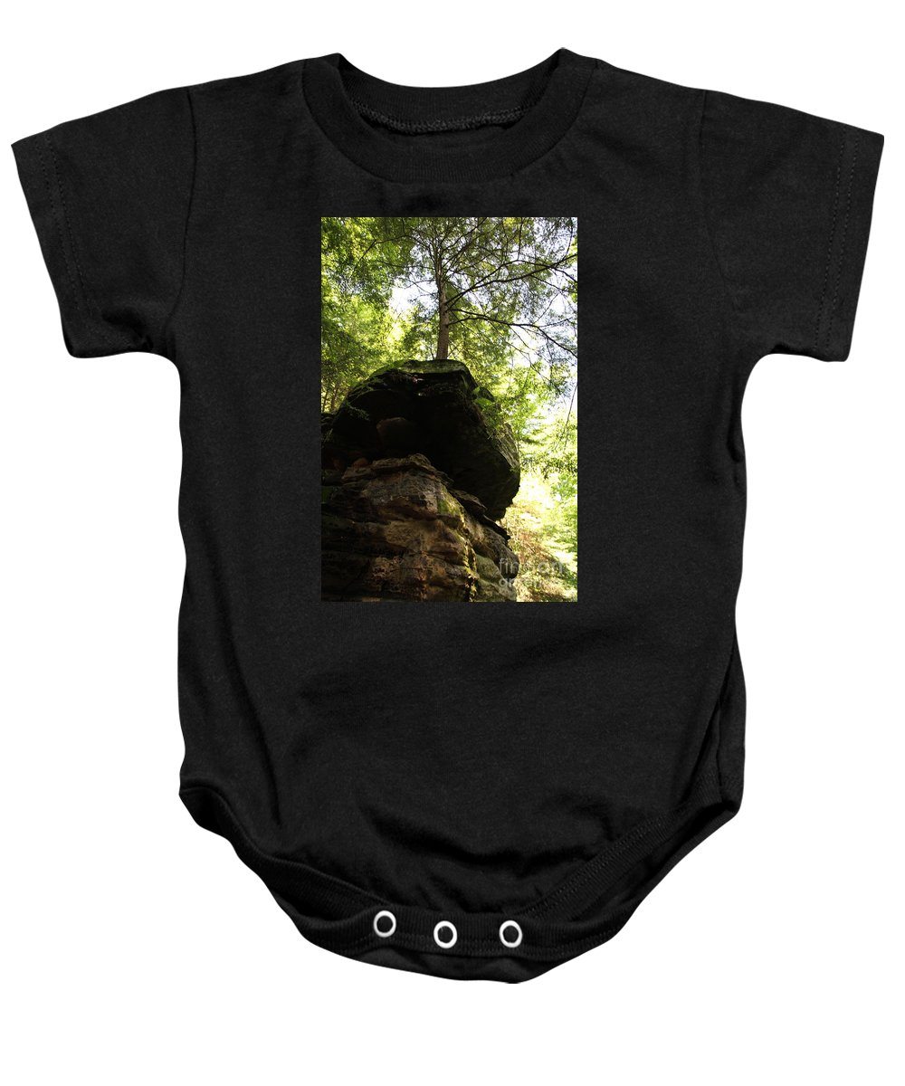 Tree Baby Onesie featuring the photograph Strength by Amanda Barcon
