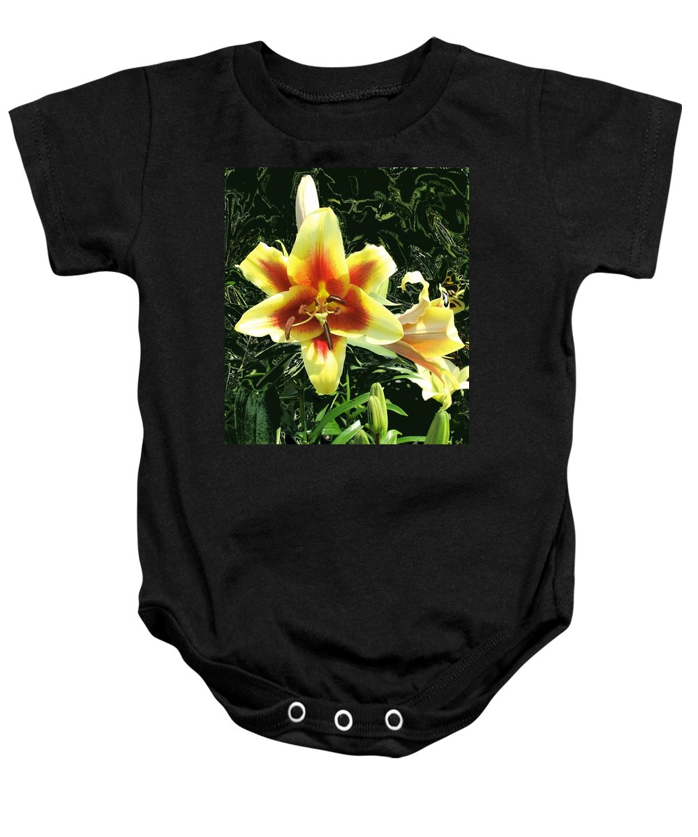 Flower Baby Onesie featuring the photograph Subtle Beauty by Ian MacDonald