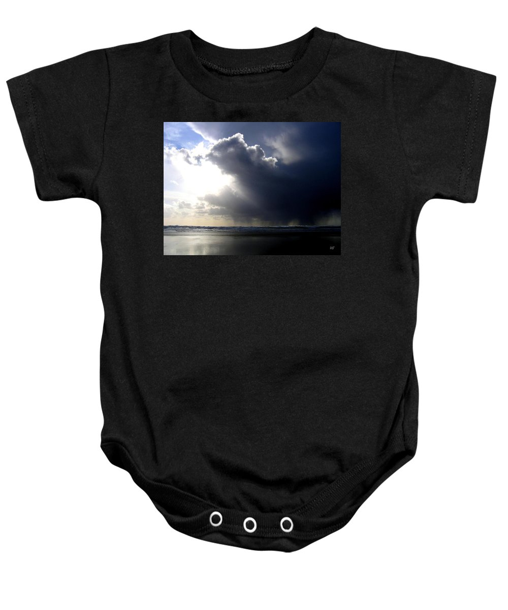 Squall Baby Onesie featuring the photograph Sudden Squall by Will Borden