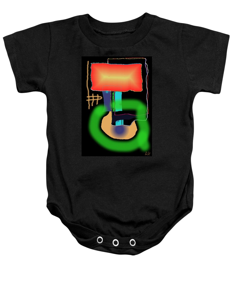 Mouse Baby Onesie featuring the digital art Suddenclicks by Helmut Rottler